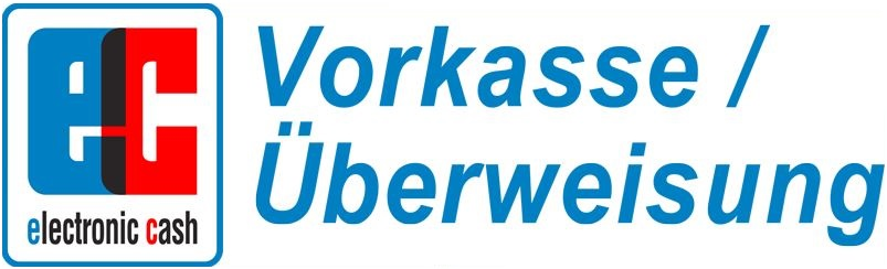 Vorkasse / Überweisung